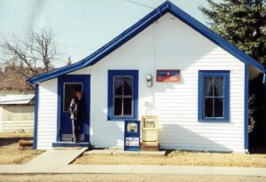 Rural Post Office, Clandonald, Alberta