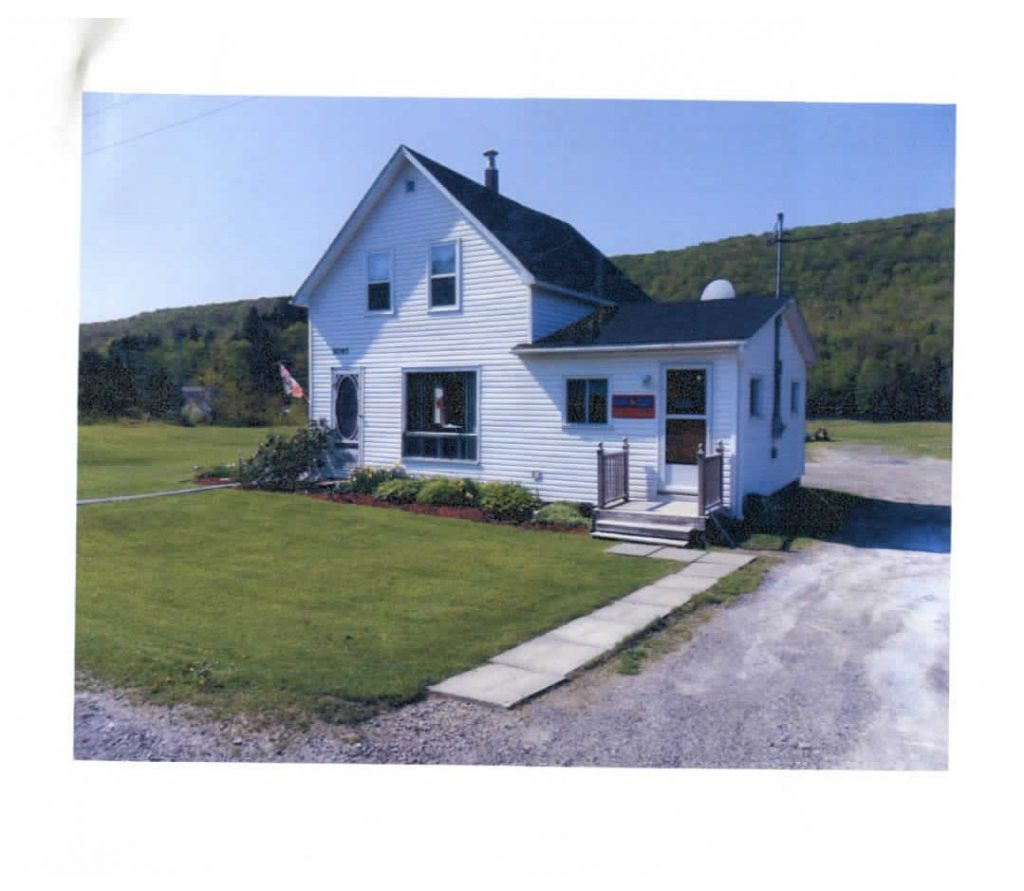 Rural Post Office, Cross Roads Country Harbour, Nova Scotia